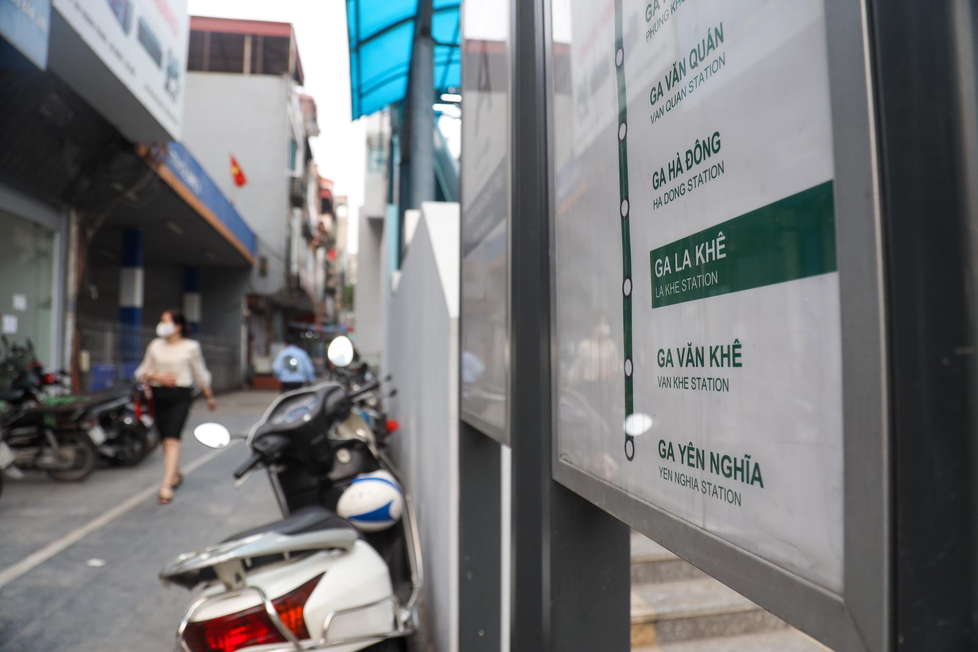 """Đóng cửa cây xăng """"đe dọa"""" an toàn đường sắt Cát Linh - Hà Đông - Ảnh 2."""