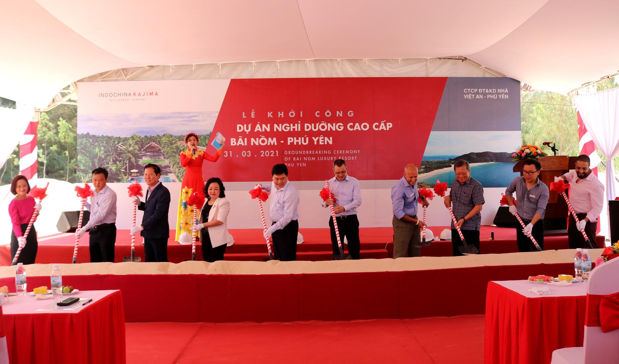 Phú Yên: Khởi công dự án nghỉ dưỡng cao cấp Bãi Nồm - Ảnh 2.