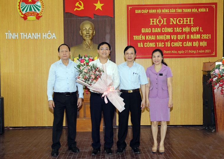 Thanh Hóa có tân phó chủ tịch Hội Nông dân - Ảnh 1.
