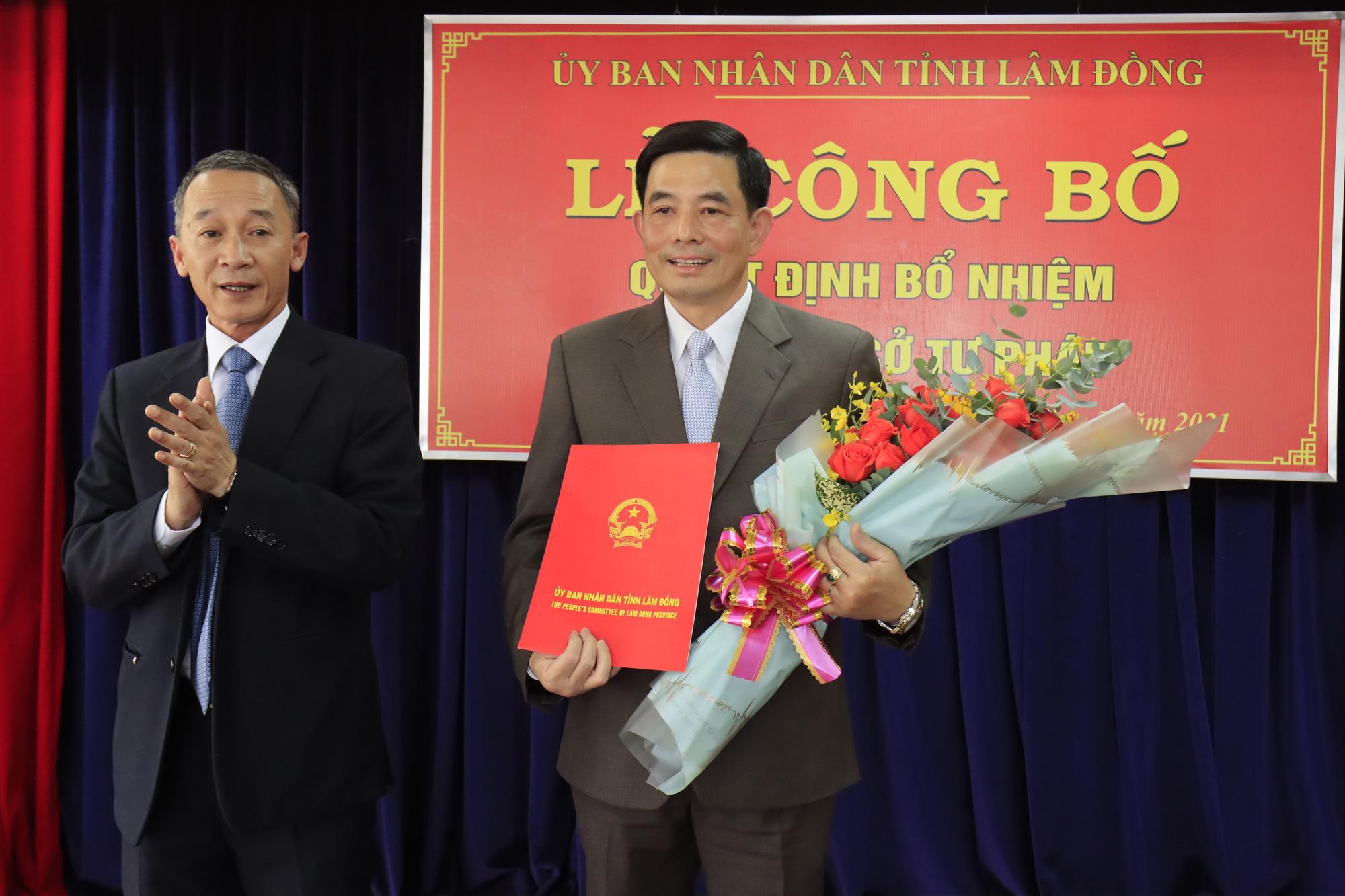 Lâm Đồng: Tân Giám đốc Sở Tư pháp là nguyên Phó Viện trưởng Viện KSND - Ảnh 2.