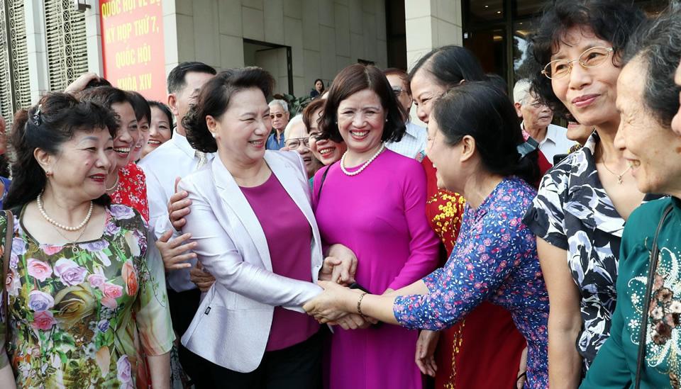 Dấu ấn của nữ Chủ tịch Quốc hội đầu tiên trong lịch sử Việt Nam - Ảnh 4.