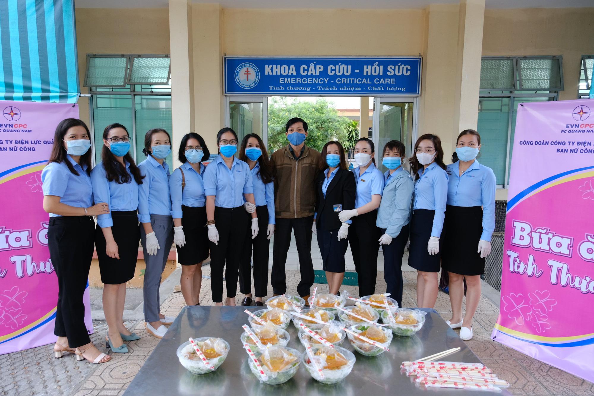 Quảng Nam: Công ty Điện lực trao 250 suất ăn cho bệnh nhân nghèo nhân ngày kỷ niệm phụ nữ 8/3 - Ảnh 1.