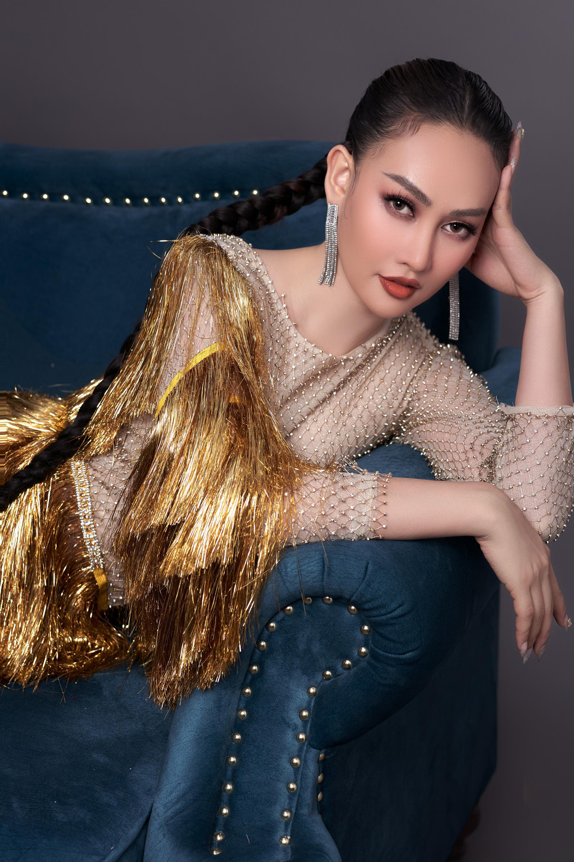 Á hậu Kim Duyên quyến rũ, mặn mà sau 1 năm chữa bệnh trầm cảm  - Ảnh 2.