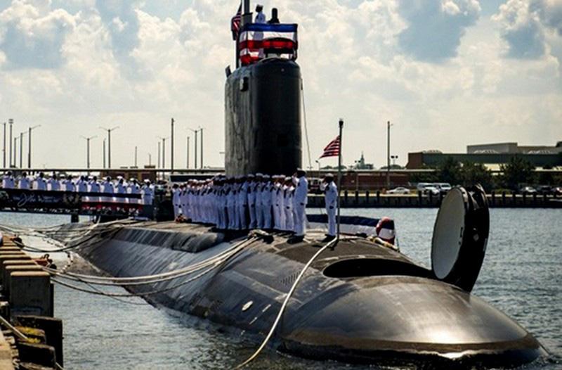 Tàu ngầm Mỹ 'gài bẫy' tàu chiến Nga ở Syria - Ảnh 1.