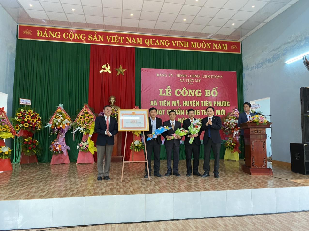 Quảng Nam: Tiên Mỹ đạt chuẩn Nông thôn mới, người dân thu nhập tăng gấp 3 lần  - Ảnh 1.