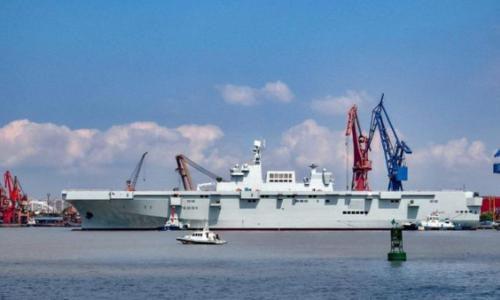 Tàu đổ bộ trực thăng tấn công đầu tiên của Trung Quốc nguy hiểm cỡ nào? - Ảnh 1.