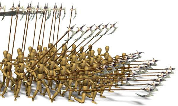 Sức mạnh kinh hồn của chiến thuật Phalanx trong chiến tranh - Ảnh 2.