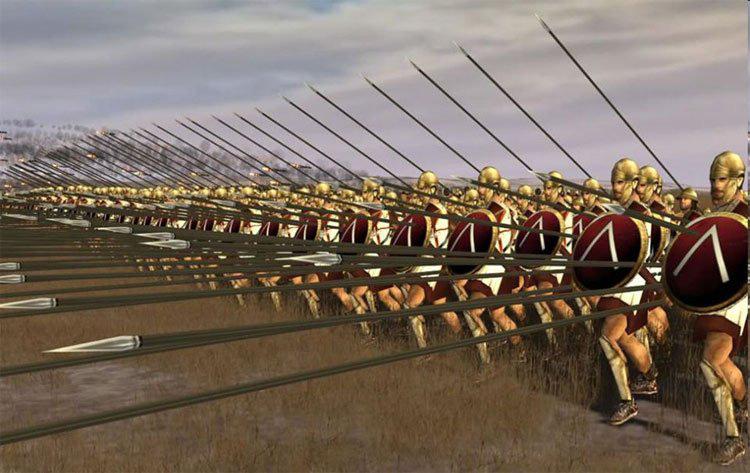 Sức mạnh kinh hồn của chiến thuật Phalanx trong chiến tranh - Ảnh 1.
