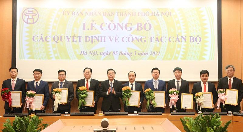 Chủ tịch Hà Nội tiếp tục điều động, bổ nhiệm hàng loạt nhân sự là lãnh đạo - Ảnh 1.