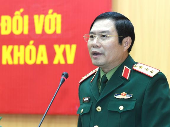 Thượng tướng 55 tuổi được Bộ Quốc phòng giới thiệu ứng cử ĐBQH khóa XV - Ảnh 2.
