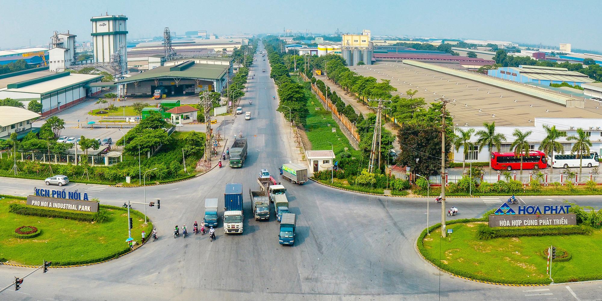 Hòa Phát được phê duyệt chủ trương mở rộng KCN Phố Nối A thêm 92,5ha - Ảnh 1.