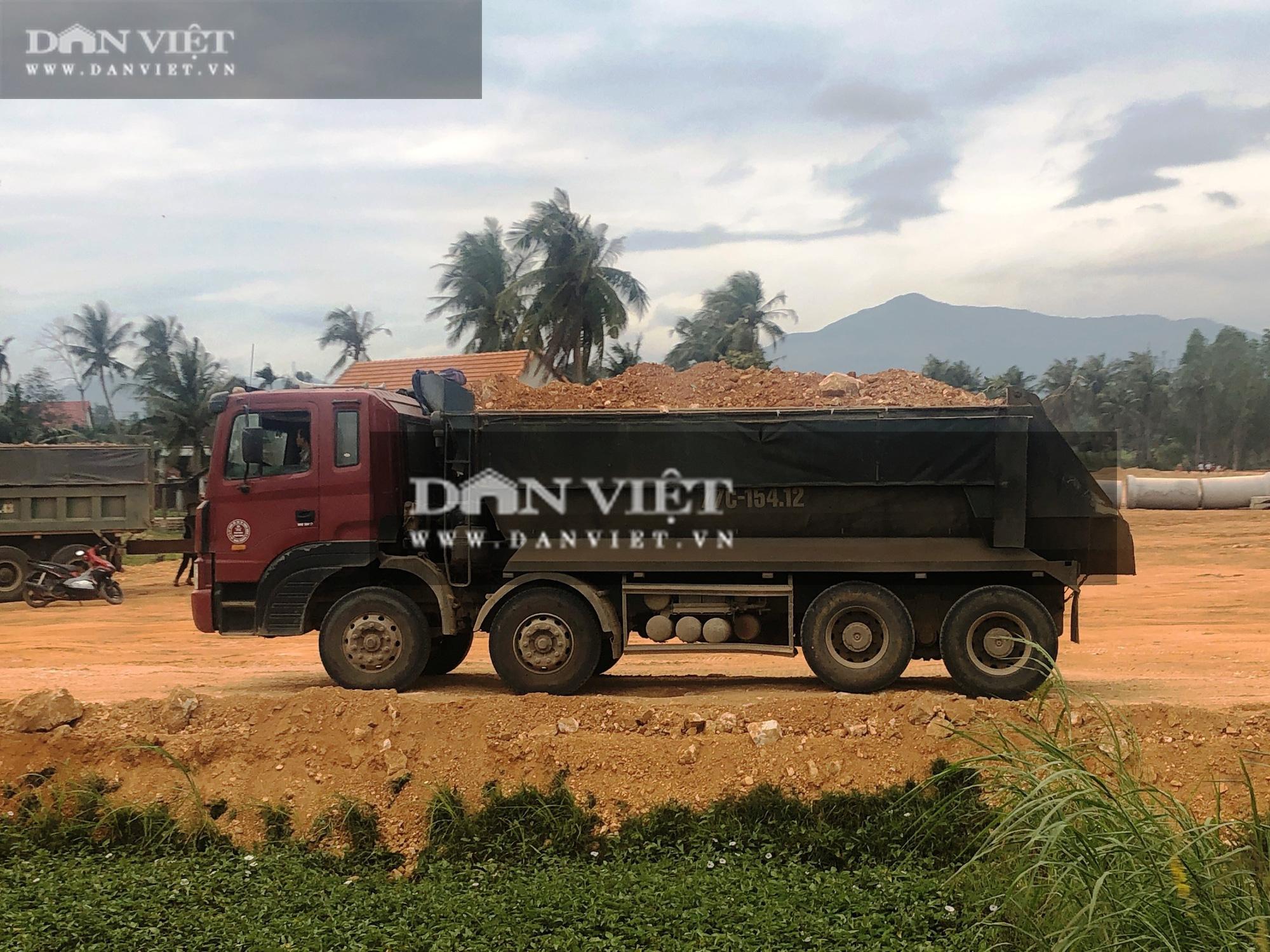 """Dùng """"đất lậu"""" thi công gói thầu Nhà nước hơn 12 tỷ đồng ở Bình Định: Phạt tiền, truy trách nhiệm cán bộ - Ảnh 2."""
