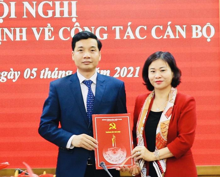 Hà Nội: Người vừa được bộ nhiệm làm Bí thư Quận ủy Thanh Xuân là ai? - Ảnh 1.