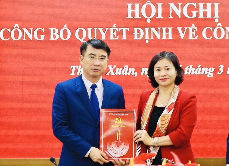 Hà Nội vừa có tân Giám đốc Sở Tài chính - Ảnh 1.