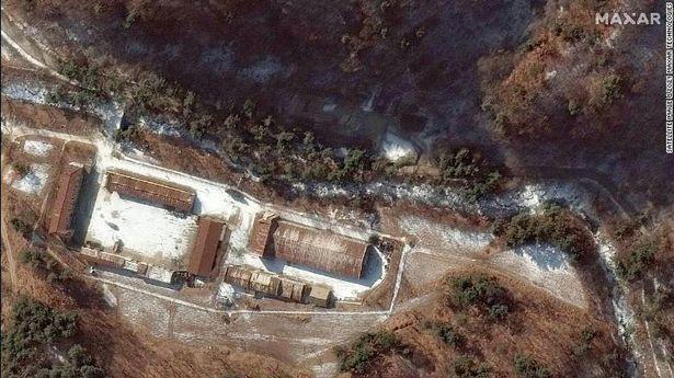 Những hình ảnh mới làm dấy lên lo ngại về hoạt động phát triển vũ khí hạt nhân ở Triều Tiên - Ảnh 2.