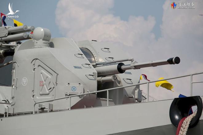 Cận cảnh 2 chiến hạm hiện đại bậc nhất Việt Nam tham gia tranh tài tại Army Games - Ảnh 14.