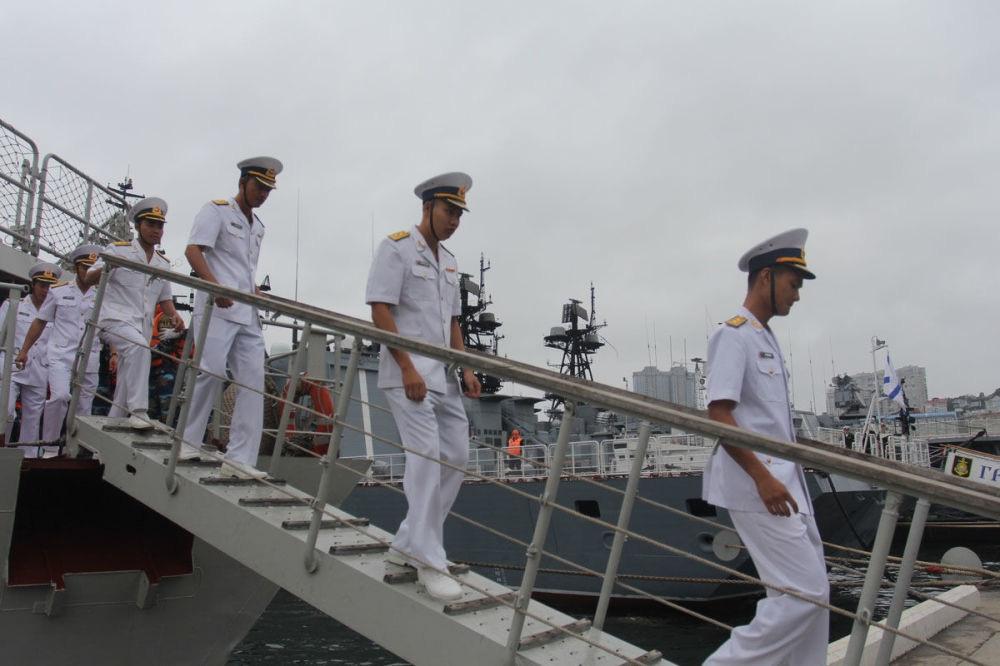 Cận cảnh 2 chiến hạm hiện đại bậc nhất Việt Nam tham gia tranh tài tại Army Games - Ảnh 17.