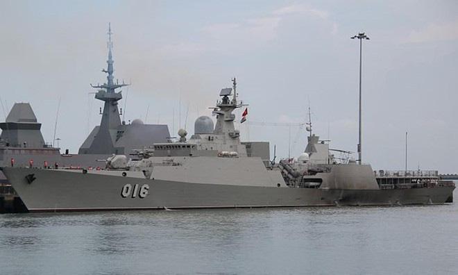 Cận cảnh 2 chiến hạm hiện đại bậc nhất Việt Nam tham gia tranh tài tại Army Games - Ảnh 9.
