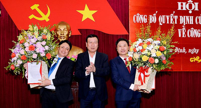 Người vừa được bổ nhiệm Trưởng Ban Nội chính Tỉnh ủy Nam Định là ai? - Ảnh 1.