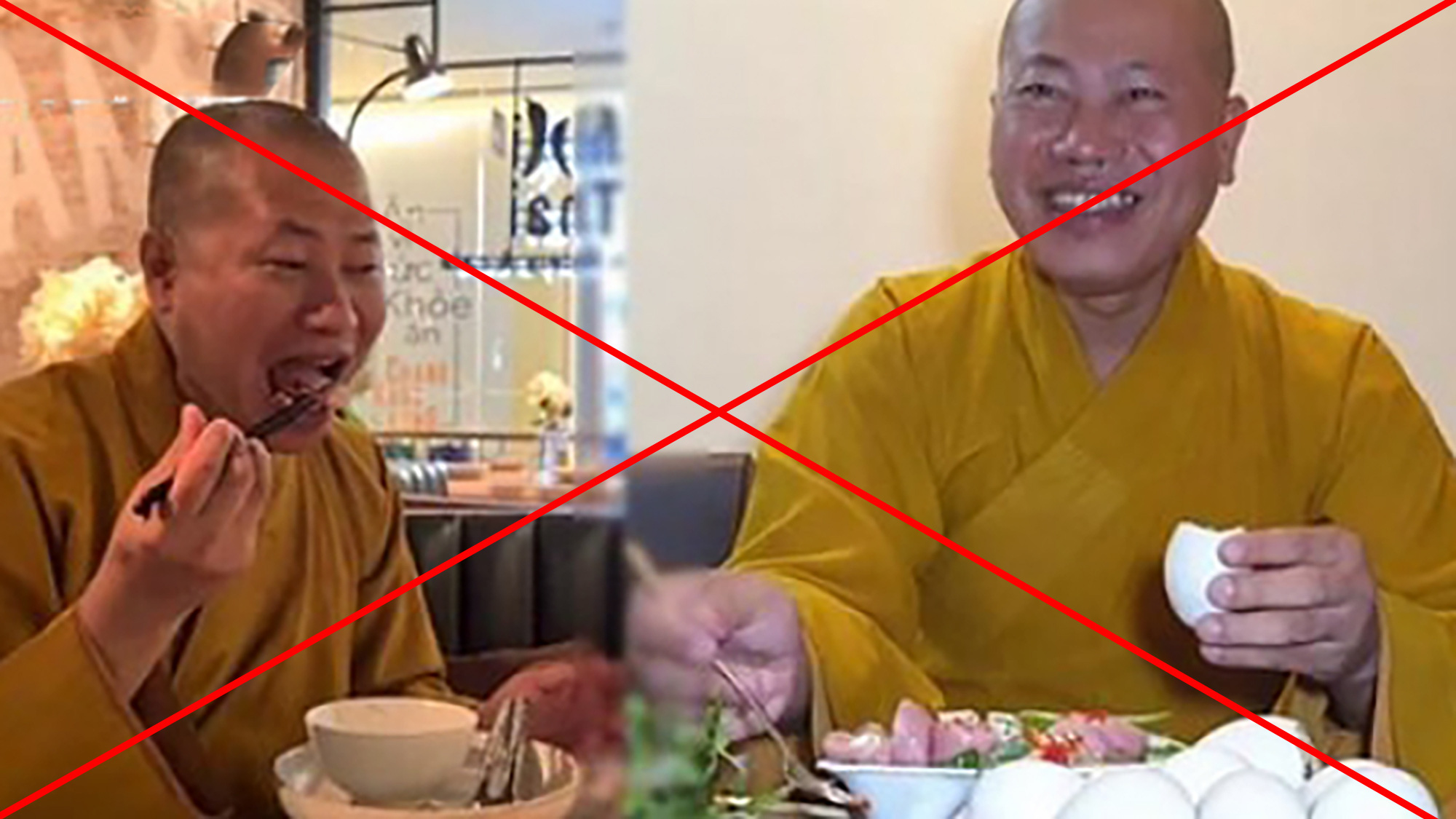Các YouTuber đồng loạt xóa bỏ nội dung về thầy chùa ăn thịt chó - Ảnh 1.