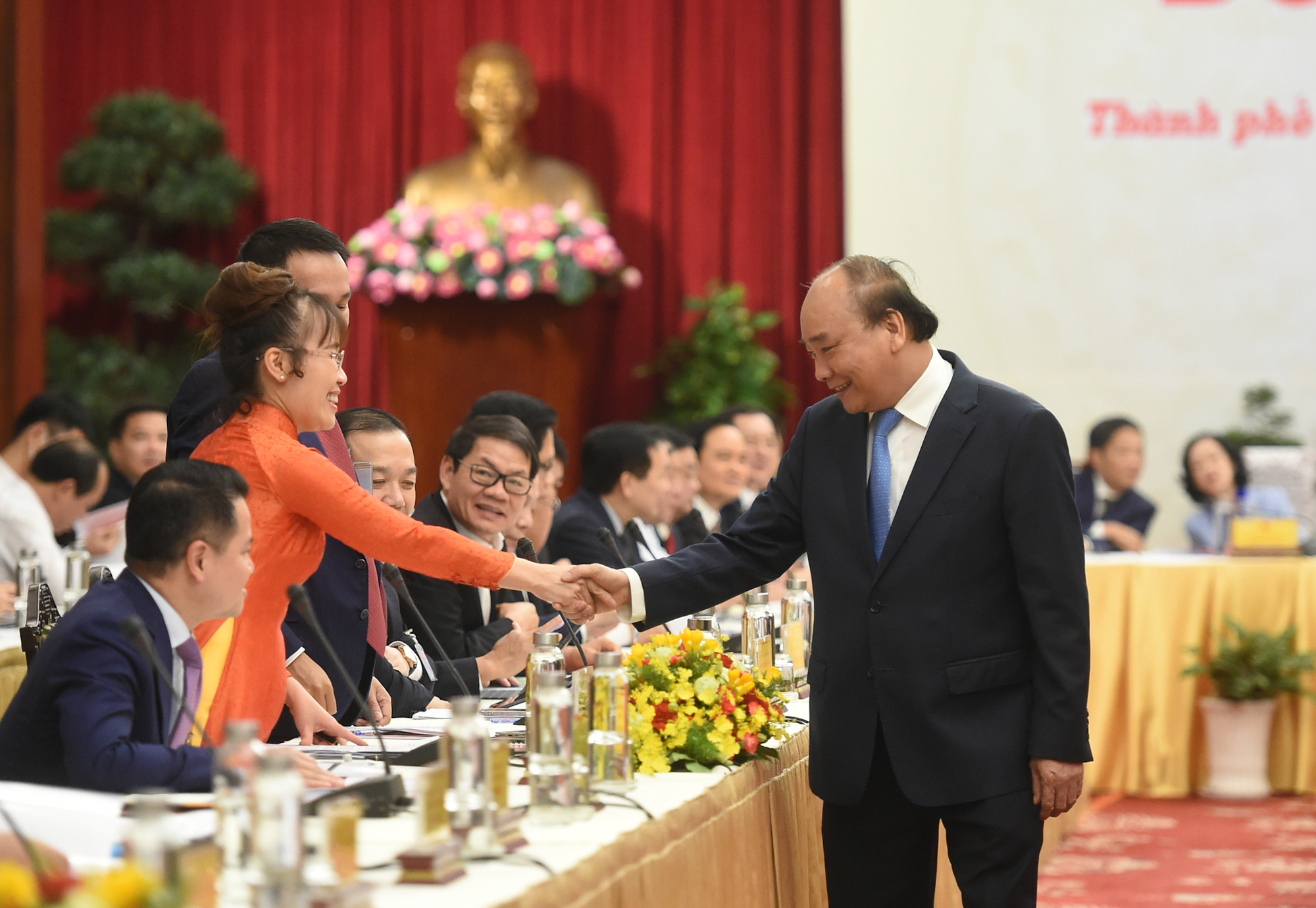 """Thủ tướng Nguyễn Xuân Phúc: """"Muốn dân giàu, nước mạnh phải chú trọng phát triển quốc kế dân sinh"""" - Ảnh 1."""