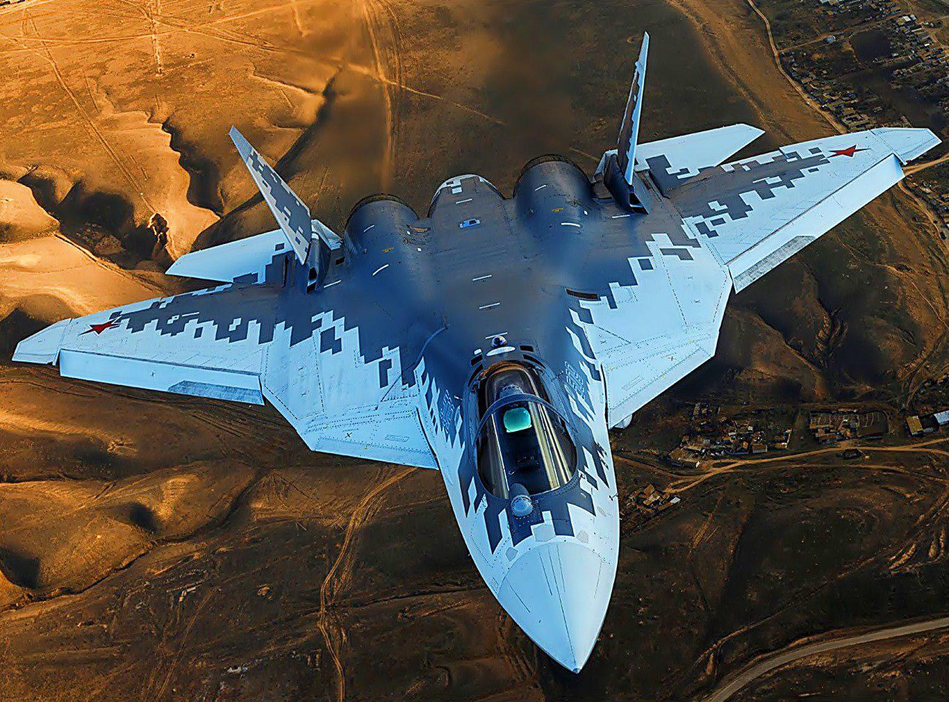 Uy lực vũ khí bí mật trên Su-57 của Nga khiến người Mỹ kiêng nể - Ảnh 1.