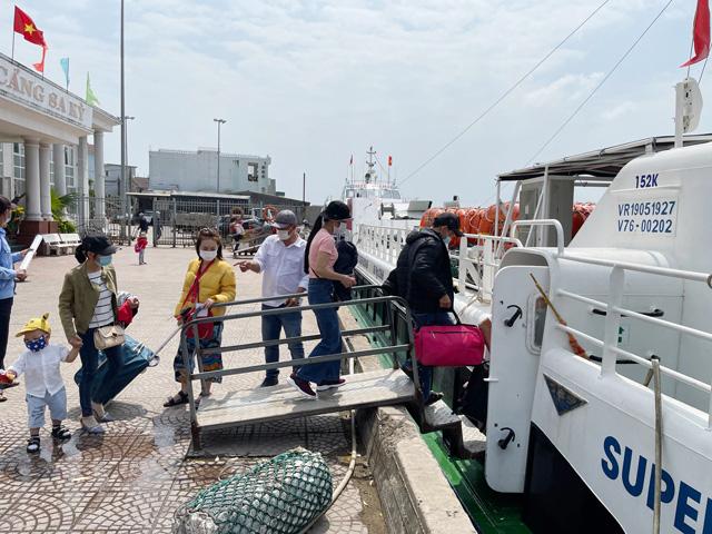 Quảng Ngãi: Bộ ủng hộ nhưng Sở bác bỏ mở tuyến đường thủy Đà Nẵng-Lý Sơn  - Ảnh 2.