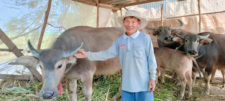 """Vì sao một ông nông dân tỉnh An Giang 59 tuổi đời mà có 51 năm tuổi nghề nuôi con suốt ngày """"đòi"""" đi tắm? - Ảnh 4."""