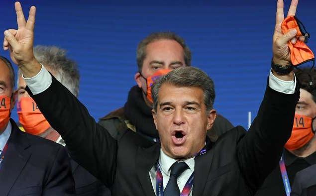 """Vì sao Laporta """"1 mình 1 ngựa"""" trong cuộc đua chủ tịch Barcelona? - Ảnh 1."""
