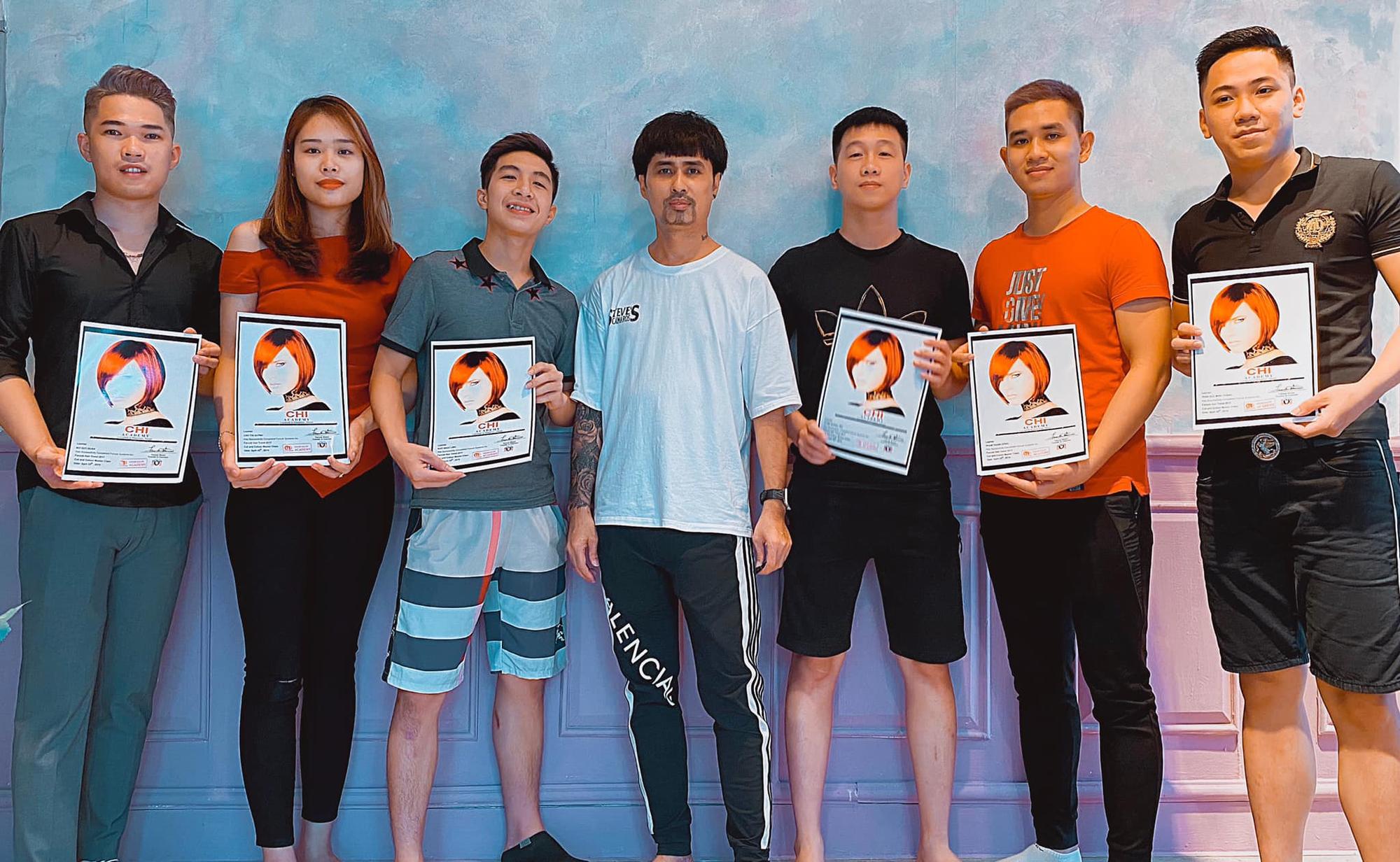 """CEO Nguyễn Nhật Cường:  Từ """"tay trắng"""" trở thành giảng viên nghề tóc danh tiếng - Ảnh 2."""