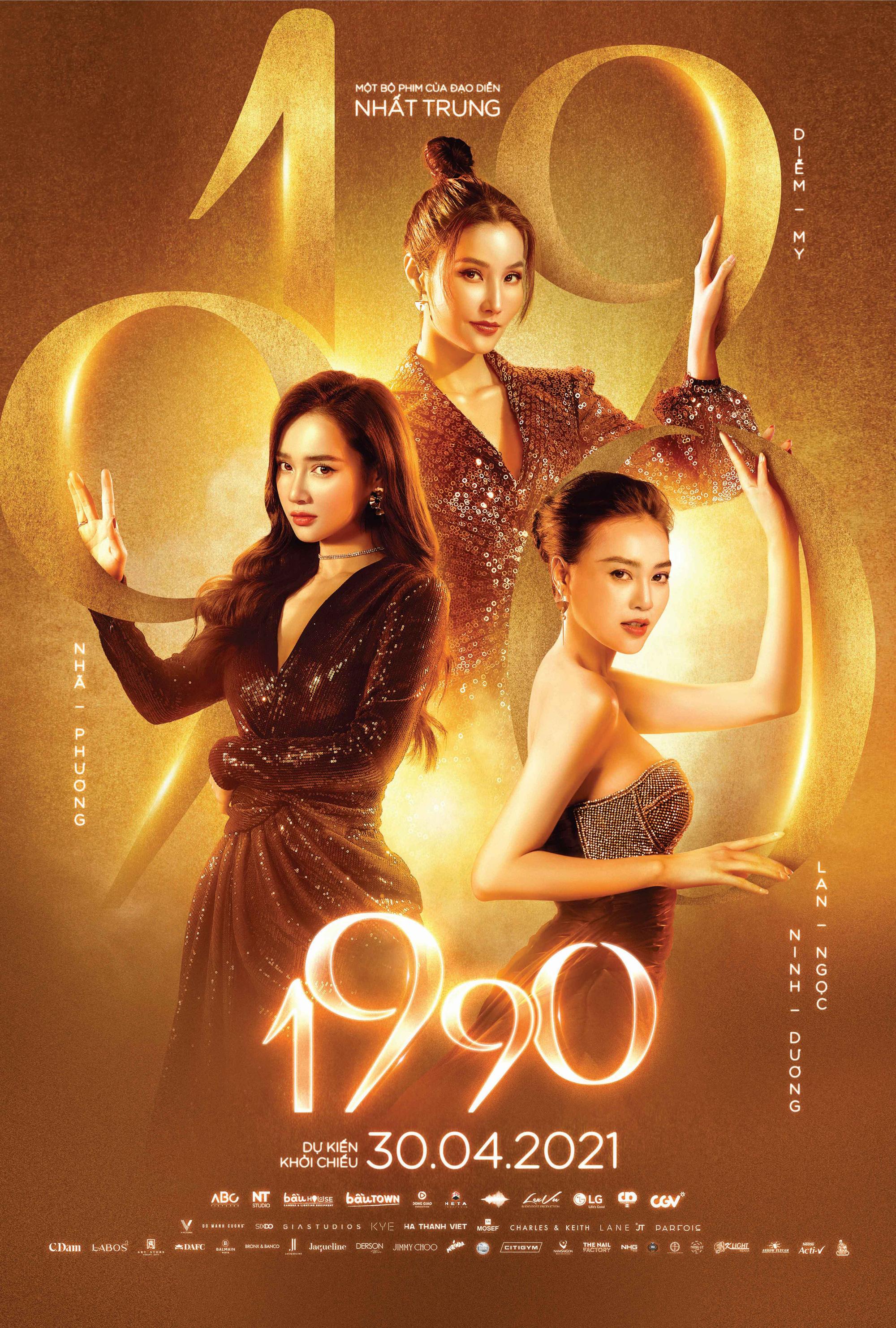"""3 ngọc nữ Ninh Dương Lan Ngọc, Nhã Phương và Diễm My 9x cùng tham gia dự án điện ảnh """"1990"""" - Ảnh 3."""