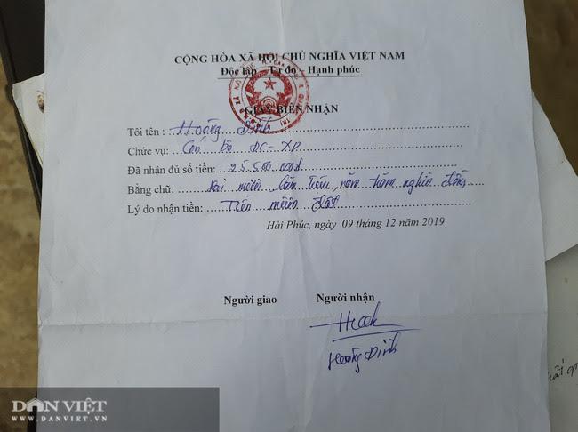 Vụ xã thu tiền của dân để trả tiền tiếp khách: Chủ tịch xã từ chức - Ảnh 2.