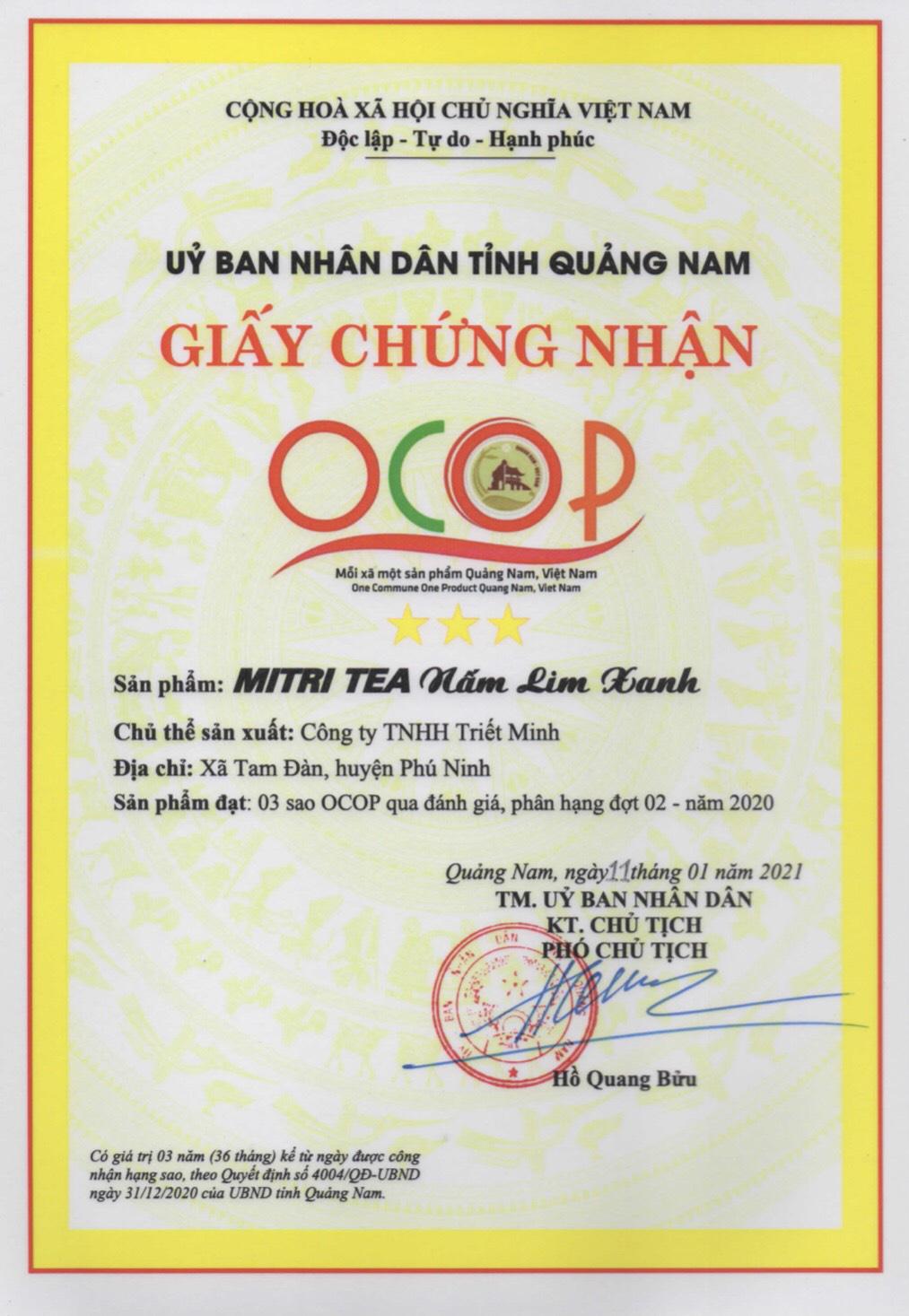 """Quảng Nam: Hai sản phẩm quý hơn """"vàng"""" được công nhận 3 sao OCOP - Ảnh 2."""
