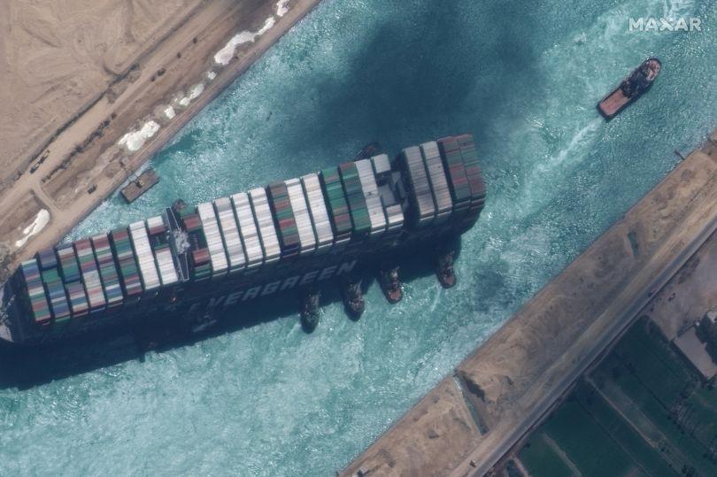 Sự cố kênh đào Suez có phải do một lời nguyền Pharaoh cổ đại? - Ảnh 1.