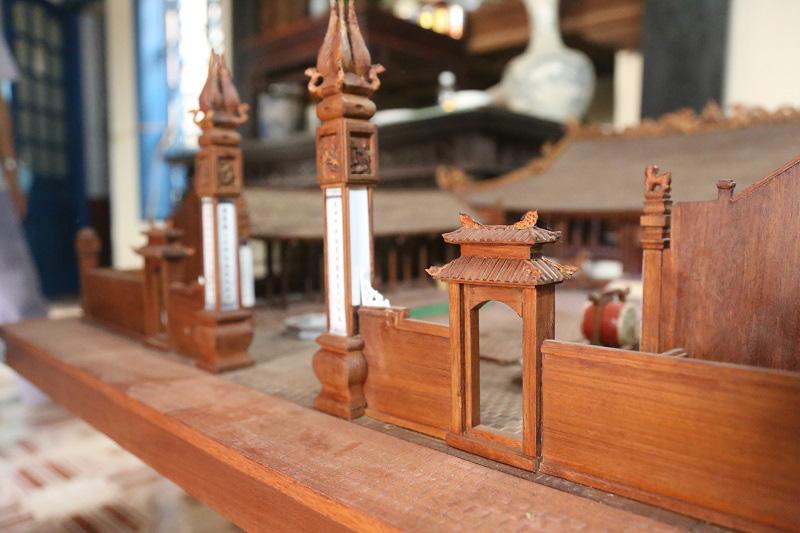 Ngắm nhìn mô hình đình làng hơn 300 năm siêu nhỏ của nghệ nhân Hà Nội - Ảnh 11.
