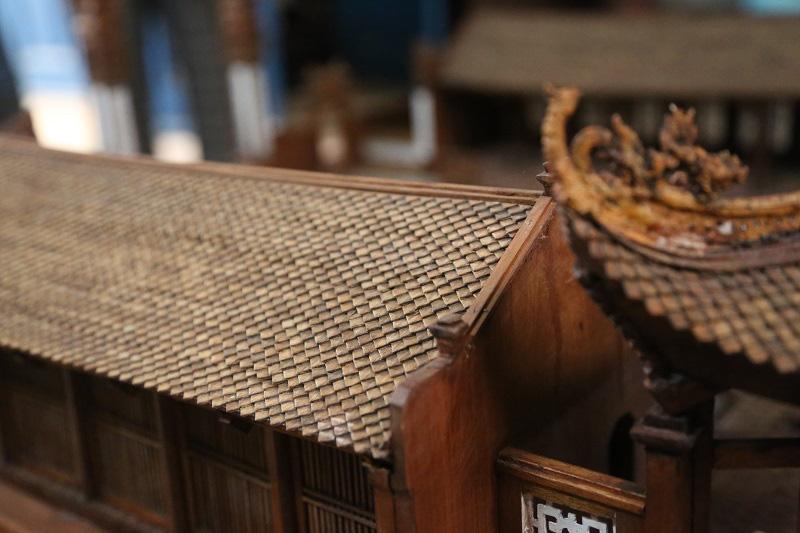 Ngắm nhìn mô hình đình làng hơn 300 năm siêu nhỏ của nghệ nhân Hà Nội - Ảnh 7.