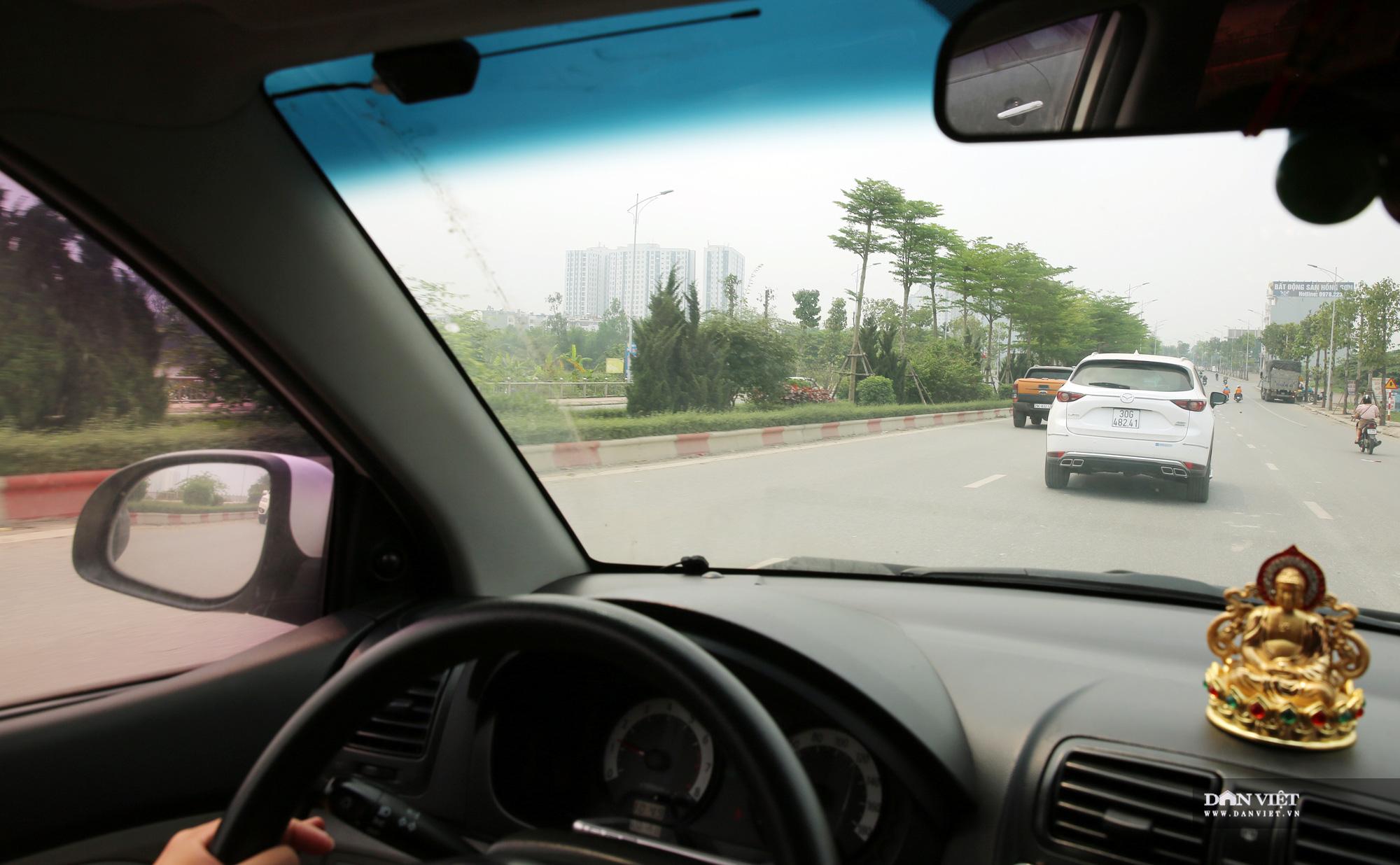 Trải nghiệm tuyến đường 7.500 tỷ đồng xuyên qua 4 quận, huyện Hà Nội - Ảnh 5.