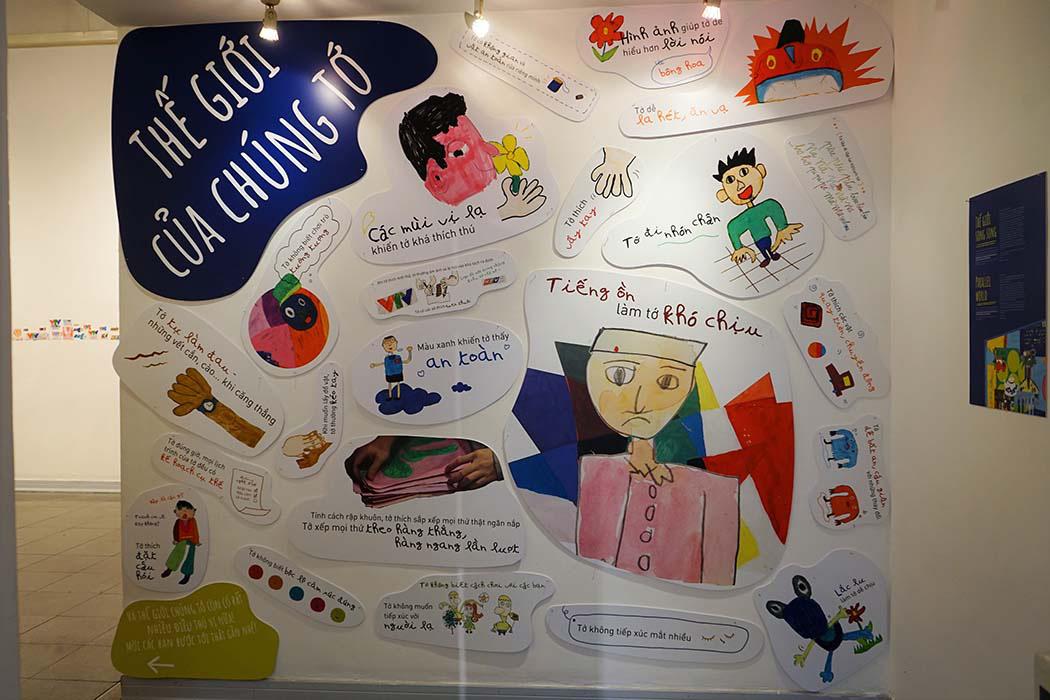 """""""Thế giới song song"""" – Triển lãm đặc biệt dành cho những bạn trẻ tự kỷ - Ảnh 3."""