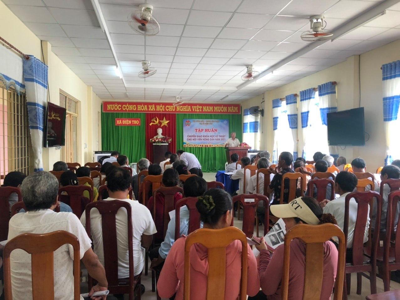 Quảng Nam: Hội Nông dân Điện Bàn đặt mục tiêu 1000 hội viên tham gia bảo hiểm xã hội tự nguyện - Ảnh 3.
