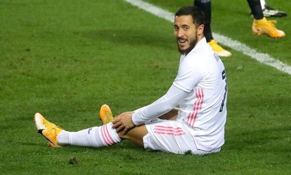 Zidane đã hết kiên nhẫn với Hazard.