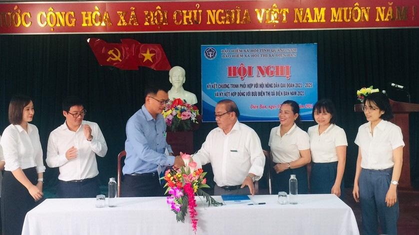 Quảng Nam: Hội Nông dân Điện Bàn đặt mục tiêu 1000 hội viên tham gia bảo hiểm xã hội tự nguyện - Ảnh 1.
