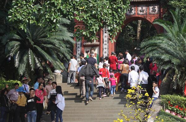 Phú Thọ: Sẽ mở tour du lịch đêm Đền Hùng - Ảnh 1.