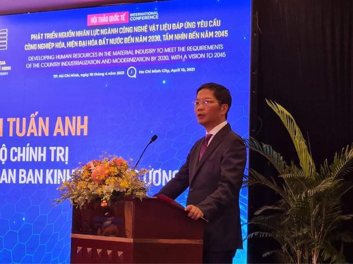 Nhân lực của ngành công nghiệp vật liệu Việt Nam còn thiếu và yếu - Ảnh 1.