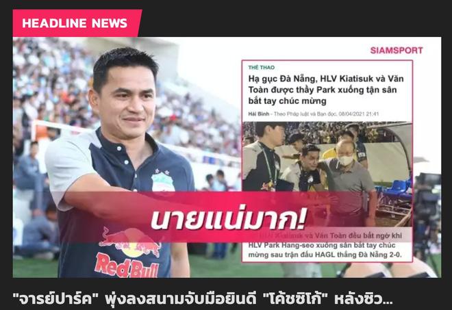 """Tin sáng (11/4): Báo Thái Lan lo lắng khi Kiatisak thành """"trợ lý"""" của HLV Park - Ảnh 1."""