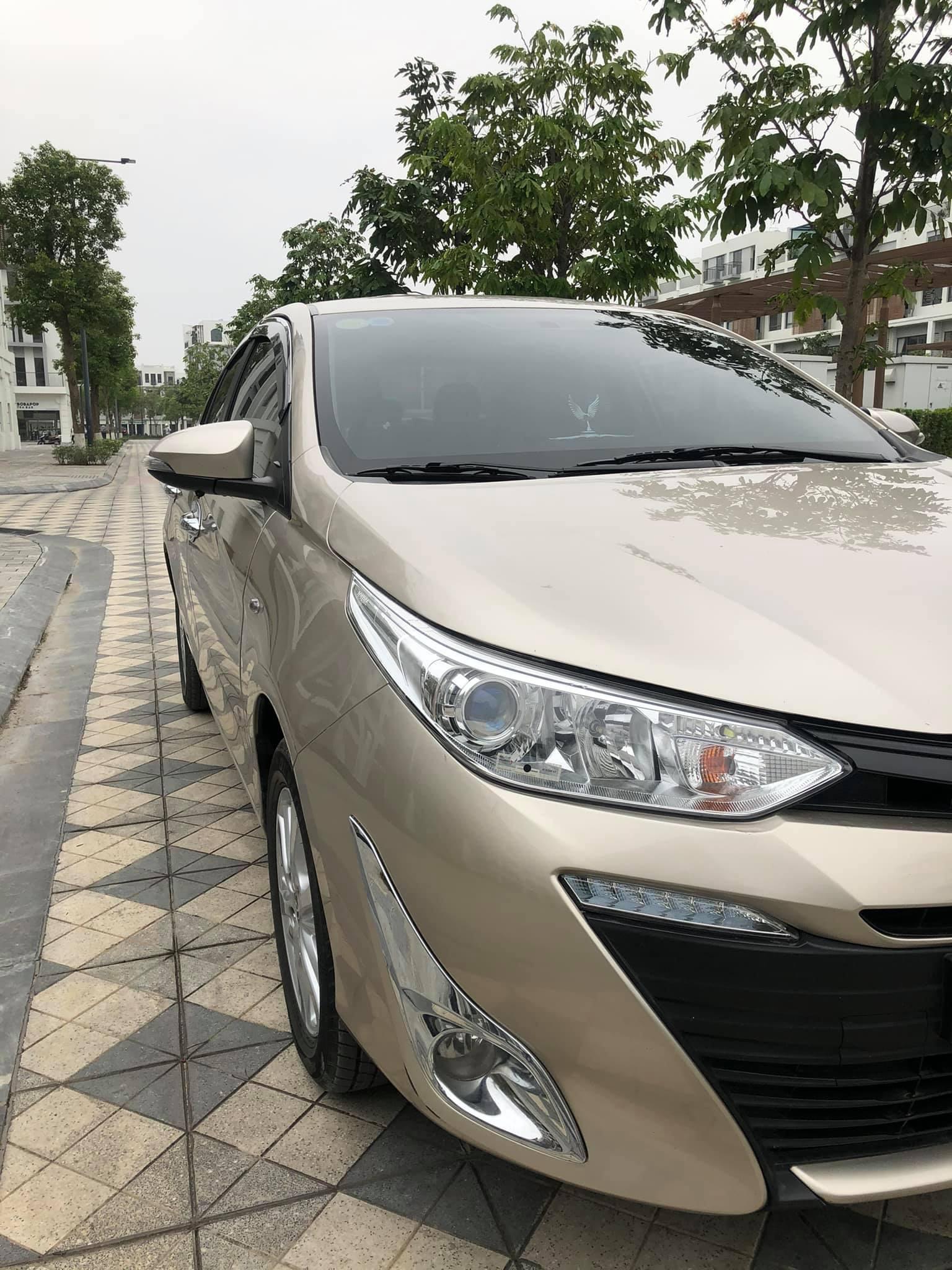Toyota Vios số sàn đời 2018 màu vàng cát, đẹp như mới, rao bán giá ngỡ ngàng - Ảnh 2.