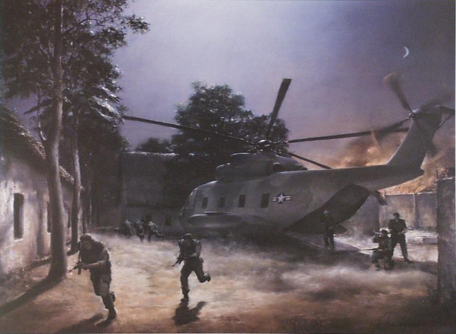 Trận đột kích đầu tiên và duy nhất ra miền Bắc Việt Nam của quân đội Mỹ - Ảnh 12.