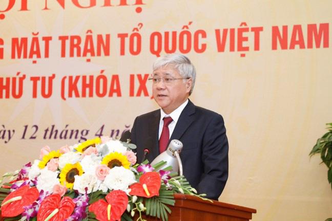 Lời hứa của tân Chủ tịch Ủy ban Trung ương MTTQ Việt Nam Đỗ Văn Chiến khi nhậm chức - Ảnh 1.