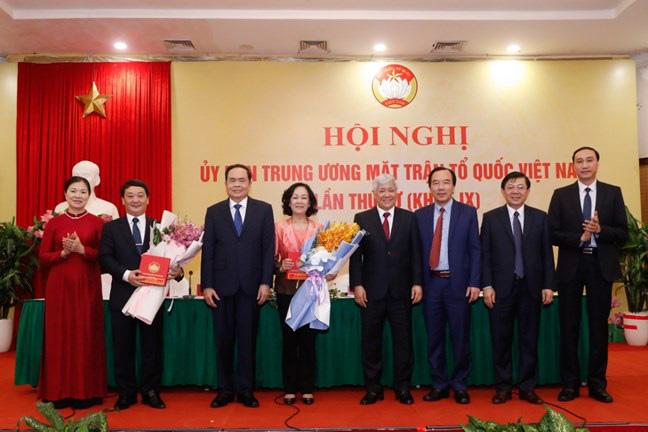 Trưởng Ban Tổ chức Trung ương Trương Thị Mai thôi giữ chức tại Ủy ban Trung ương MTTQ Việt Nam - Ảnh 1.