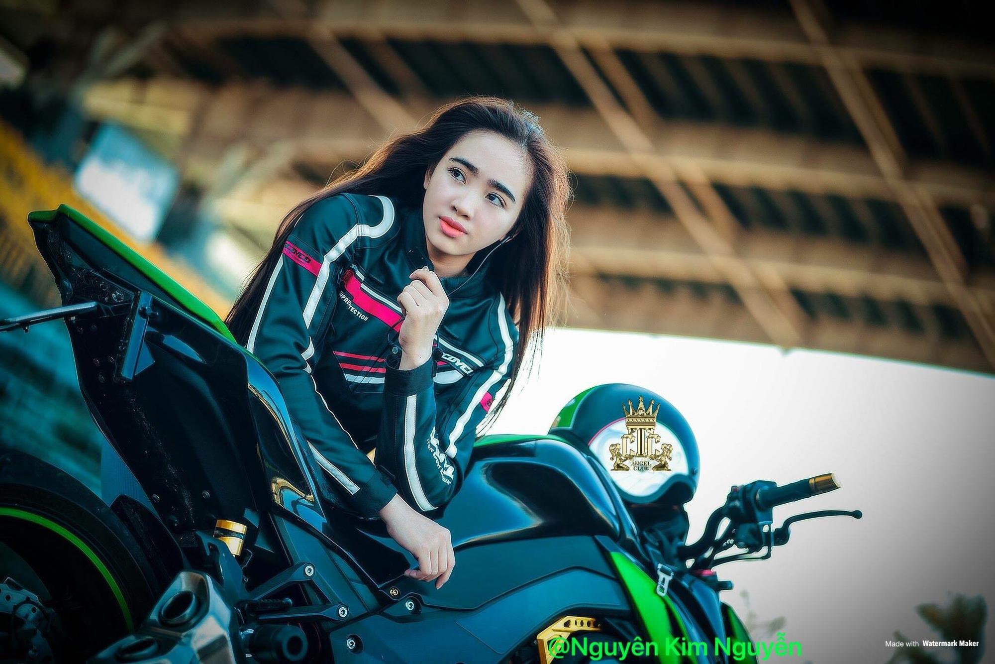 """Hotgirl Cần Thơ Kim Nguyên: """"Chơi xe phân khối lớn là nét đẹp"""" - Ảnh 4."""