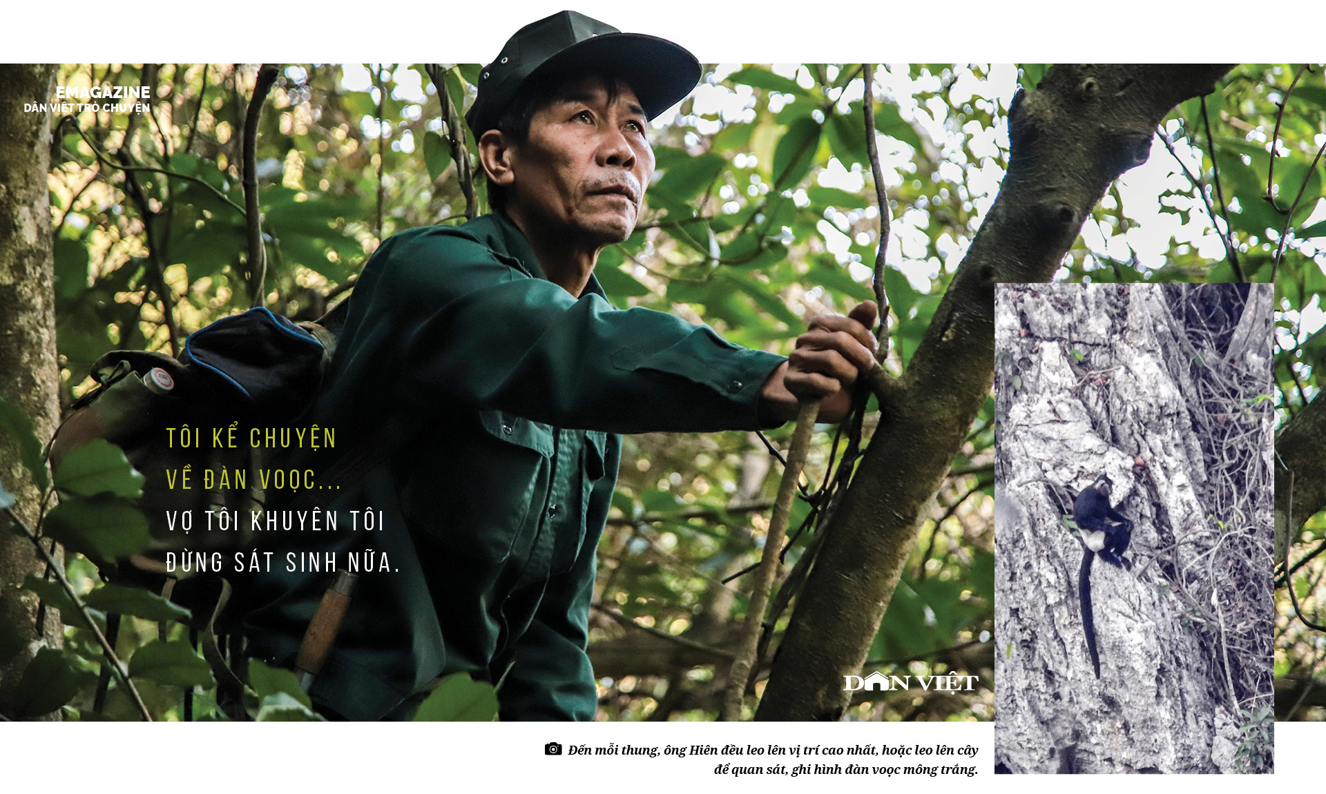 Dân Việt Trò Chuyện: Thợ săn buông súng chuộc lỗi với rừng già - Ảnh 5.